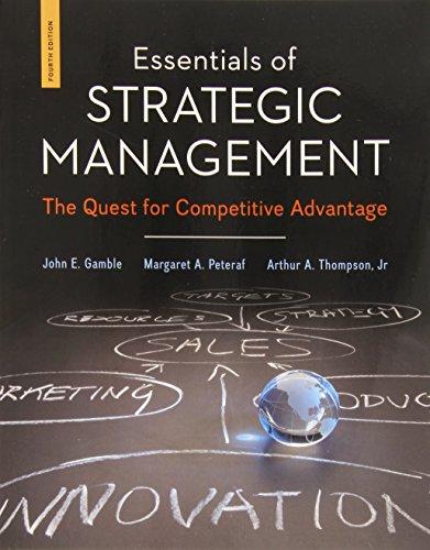 9780078112898: Essentials of Strategic Management: The Quest for Competitive Advantage
