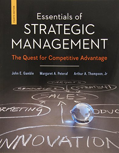 9780078112898: Essentials of Strategic Management: The Quest for Competitive Advantage