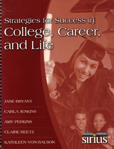 9780078114793: Strategies for Success in College, Career, and Life