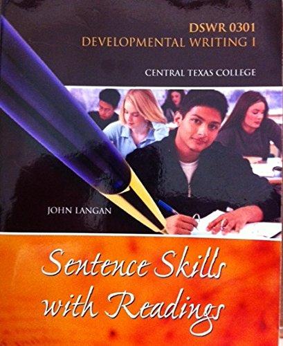 9780078115301: Dswr 0301 Developmental Writing 1