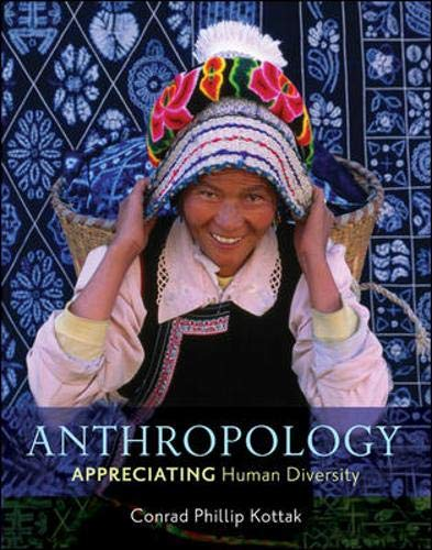 9780078116995: Anthropology: Appreciating Human Diversity