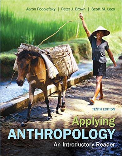 Applying Anthropology: An Introductory Reader: Aaron Podolefsky, Peter