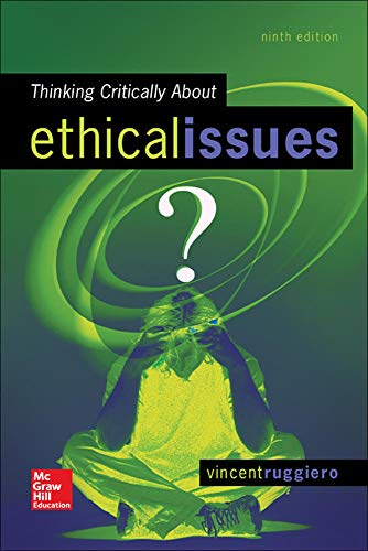9780078119057: Thinking Critically About Ethical Issues (Philosophy & Religion)