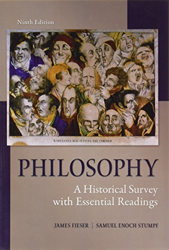 9780078119095: Philosophy: A Historical Survey with Essential Readings