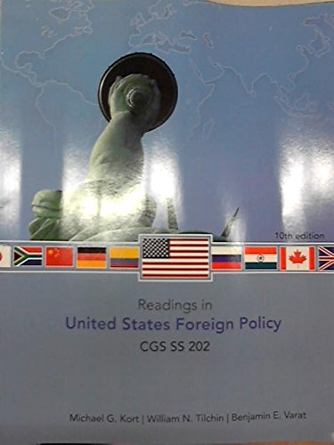 9780078119477: Readings in U.S. Foreign Policy