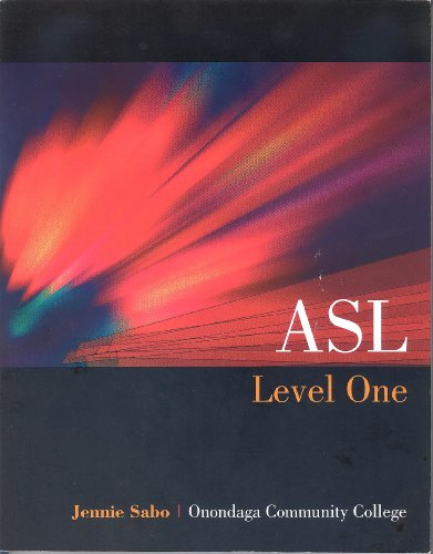 9780078119545: ASL Level One