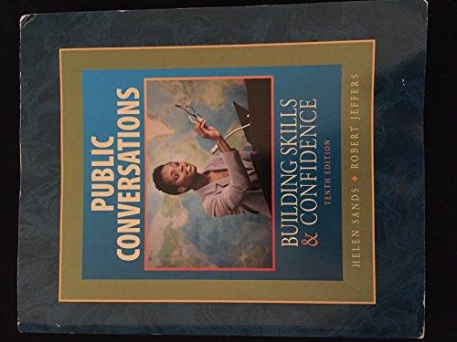9780078119743: Public Conversations Building Skills & Confidence Tenth Edition