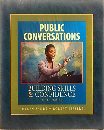 9780078119743: Public Conversations Building Skills & Confidence Tenth Edition
