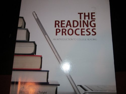 9780078119798: The Reading Process (The Reading Process An Introduction to College Reading)