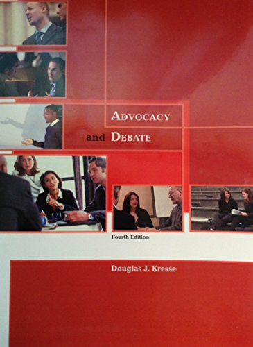 9780078119897: Advocacy and Debate