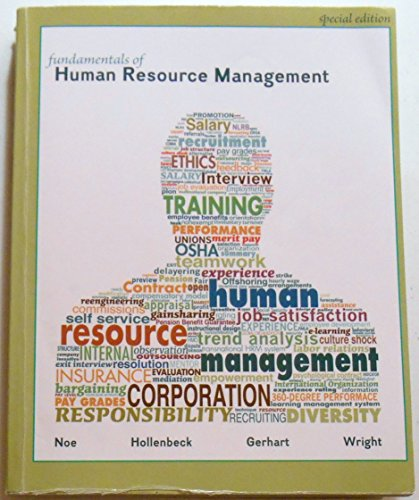 Fundamentals of Human Resource Management Special 5th