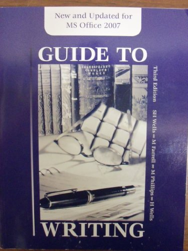 9780078122590: Guide to Writing: Everything Students Need to Know about Essays, Research Papers, Lab Reports, and Citing and Documenting Their Work with MLA, APA, or CSE