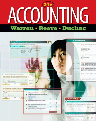 9780078122651: Accounting 24e (24th Edition) By Warren, Reeve, Duchac