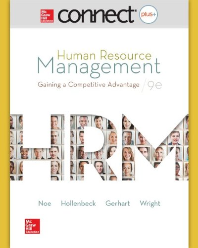 9780078124204: Connect Plus Human Resource Management with LearnSmart 1 Semester Access Card for Human Resource Management