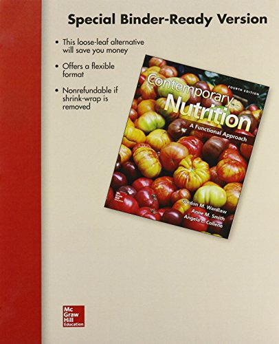 9780078124464: Loose Leaf for Contemporary Nutrition: A Functional Approach