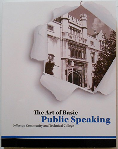 9780078127489: The Art of Basic Public Speaking W/ Connect Plus Code Card - Custom Edition for Jefferson Community and Technical College