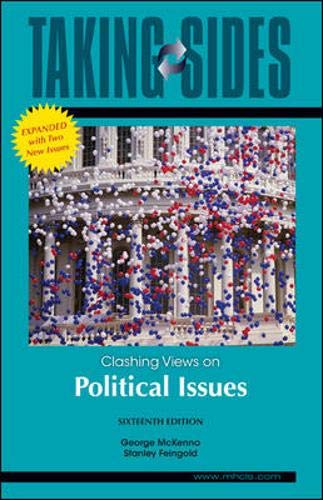 9780078127526: Taking Sides: Clashing Views on Political Issues, Expanded