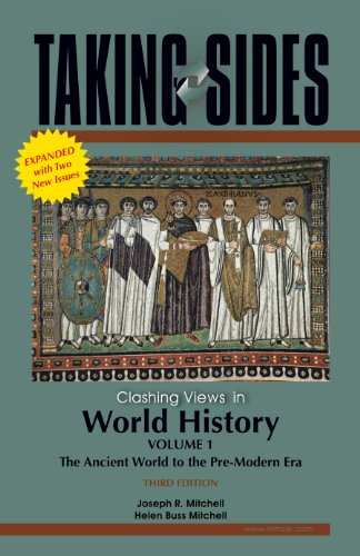9780078127588: Taking Sides: Clashing Views in World History, Volume 1: The Ancient World to the Pre-Modern Era , Expanded