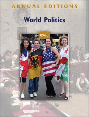 9780078127601: World Politics: 09/10 (Annual Editions series) - 30th Edition