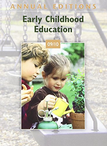 9780078127649: Annual Editions: Early Childhood Education 09/10
