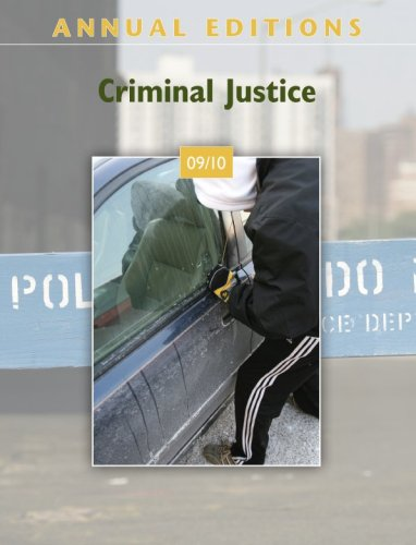 9780078127656: Annual Editions: Criminal Justice 09/10