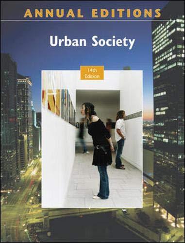 9780078127717: Annual Editions: Urban Society, 14/e