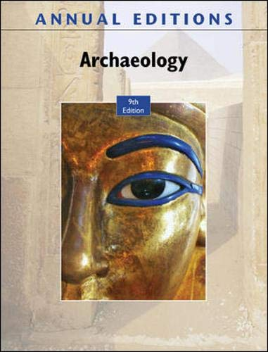 9780078127748: Annual Editions: Archaeology, 9/e