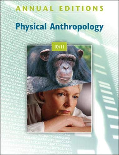 9780078127809: Annual Editions: Physical Anthropology 10/11