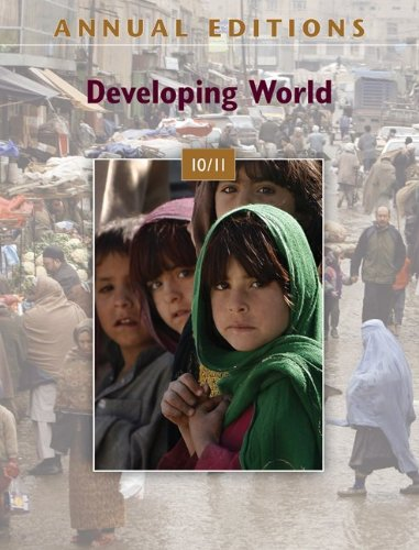9780078127816: Annual Editions: Developing World 10/11