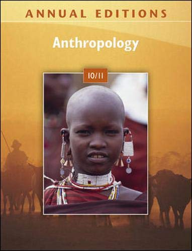 9780078127823: Annual Editions: Anthropology 10/11
