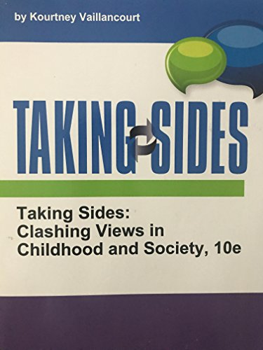 9780078128578: CREATE COLLECTION ONLY Taking Sides: Clashing Views in Childhood and Society