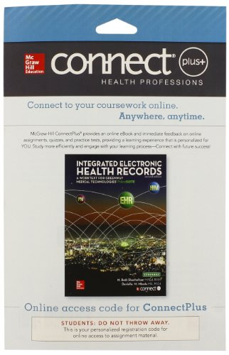9780078128691: Connect 2-Semester Access Card for Integrated Electronic Health Records