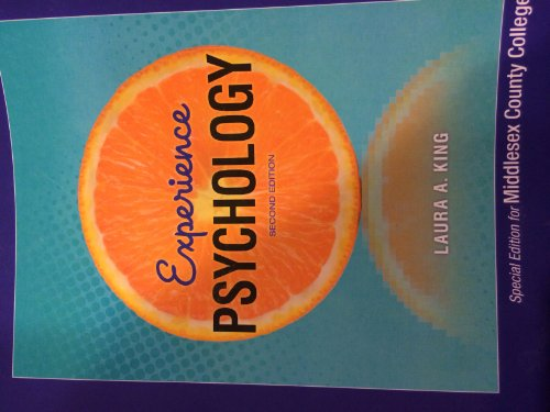 9780078129339: Experience Psychology 2nd ed