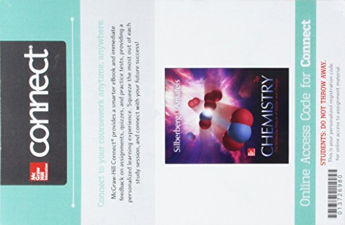 9780078129865: Connect 2-Year Access Card for Chemistry: The Molecular Nature of Matter and Change