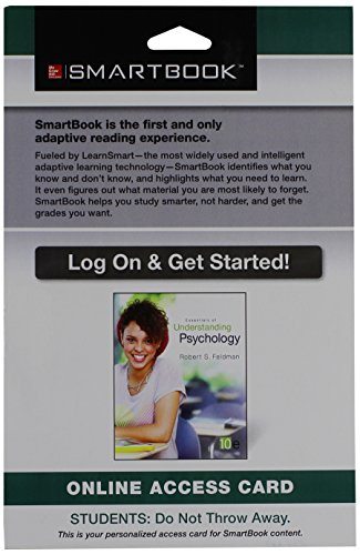 9780078130304: SmartBook Access Card for Essentials of Understanding Psychology