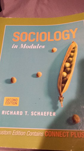 9780078131790: Sociology in Modules (2nd Custom Edition)