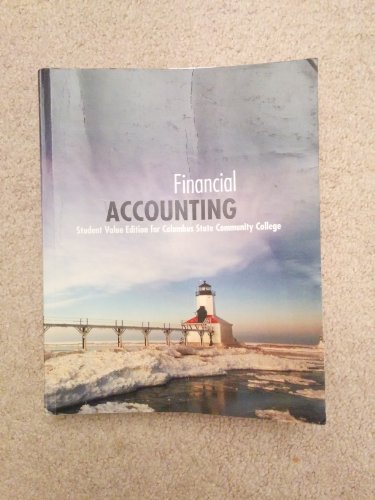 9780078132162: Financial Accounting Student Value Edition for Columbus State Community College