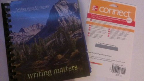 9780078132841: Writing Matters (Custom Edition for New Mexico State University)