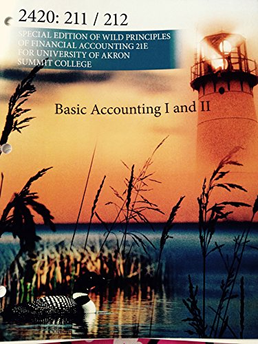 9780078133329: Principles of Financial Accounting