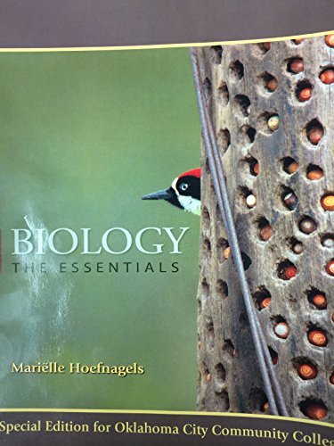 9780078133435: Biology the Essentials with ConnectPlus card-Oklahoma City Community College Special Edition