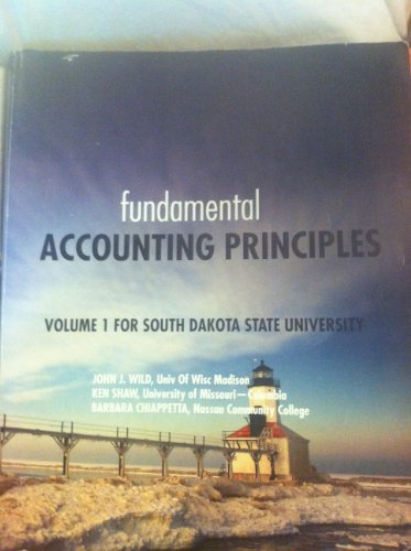 9780078135170: Fundamental Accounting Principles