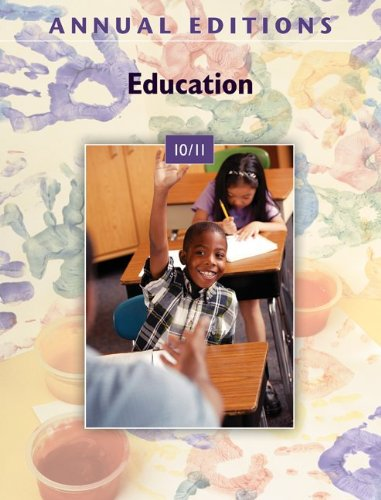 9780078135859: Annual Editions: Education 10/11
