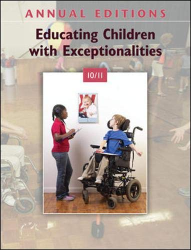 9780078135873: Annual Editions: Educating Children with Exceptionalities 10/11