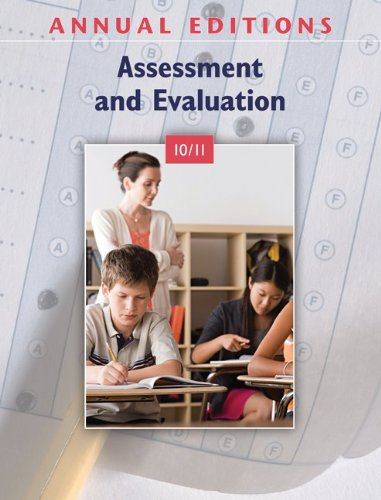 9780078135897: Annual Editions: Assessment and Evaluation 10/11