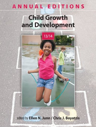 9780078135941: Annual Editions: Child Growth and Development 13/14