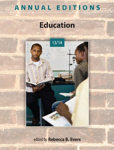 9780078135958: Annual Editions: Education 13/14