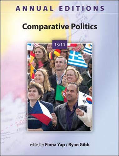 9780078136009: Annual Editions: Comparative Politics 13/14