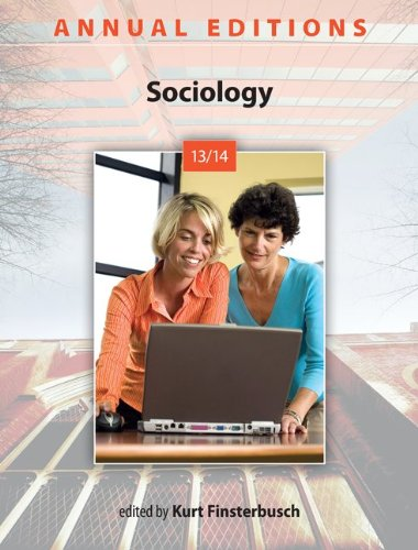 9780078136016: Annual Editions: Sociology 13/14