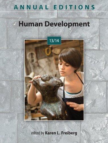 9780078136047: Annual Editions: Human Development 13/14