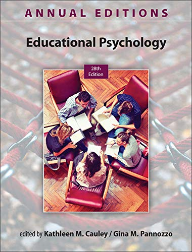 9780078136078: Annual Editions: Educational Psychology, 28/e